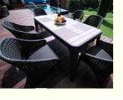 Плетеные диваны, кресла, столы, комоды